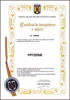 Certificat inregistrare a marcii